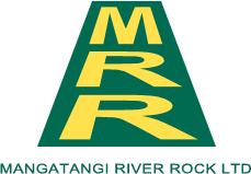 Mangatangi River Rock Logo