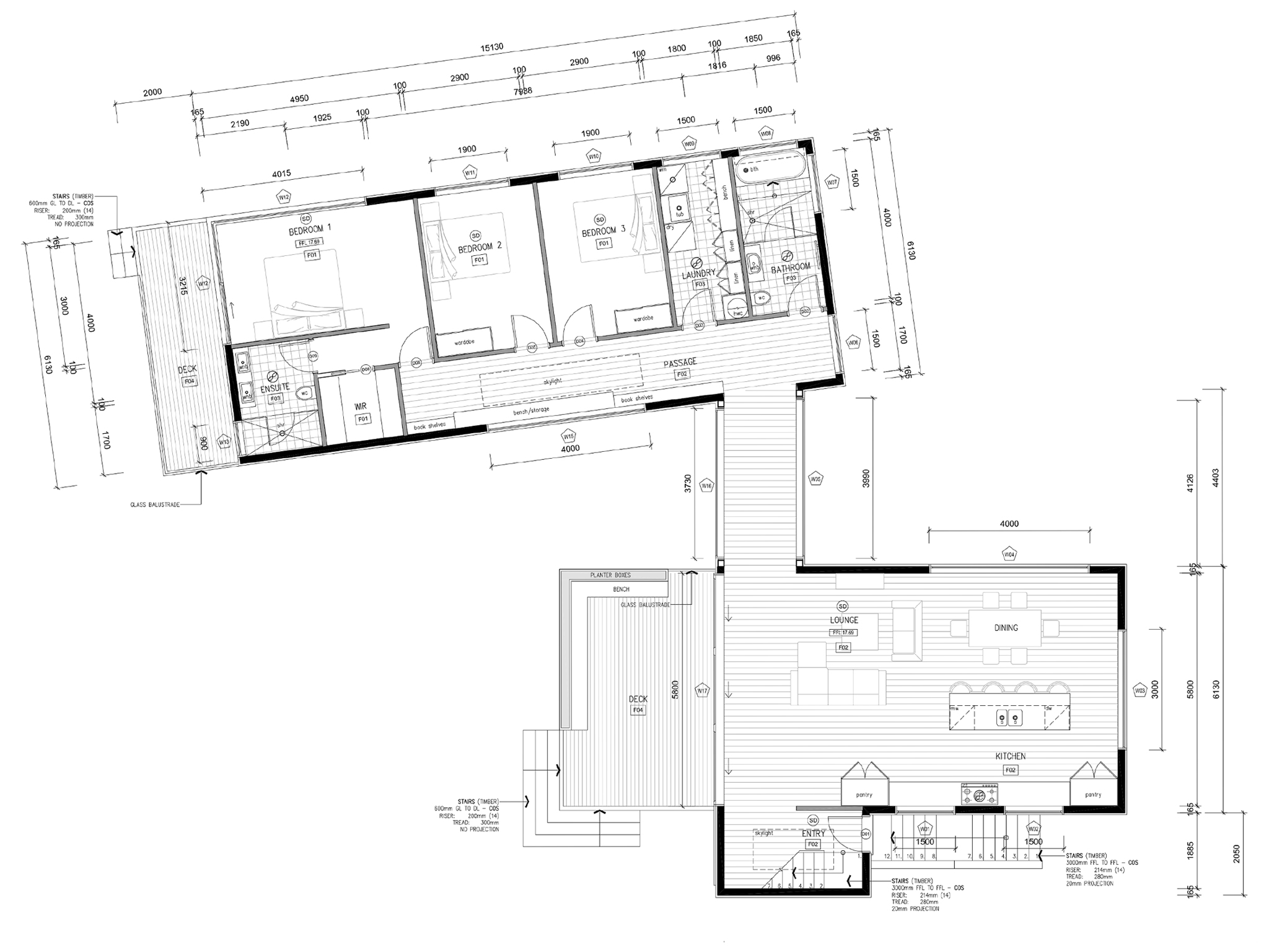 Ben and kylie 39 s house design ben and kylie 39 s dream home for Dream floor plans