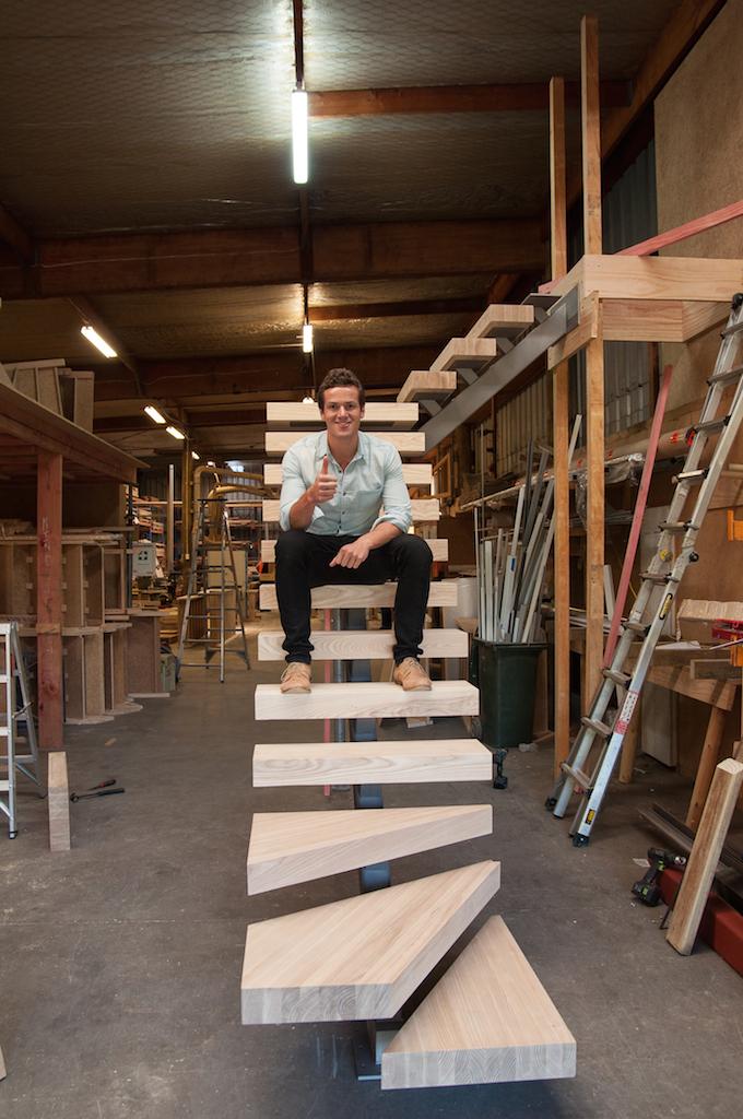 Ben Crawford Kylie Leydon Stylecraft designer stairs 2